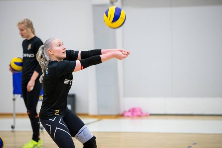 Liiganousu sopii tavoitteeksi Emilia Sieviläiselle. Arkistokuva.