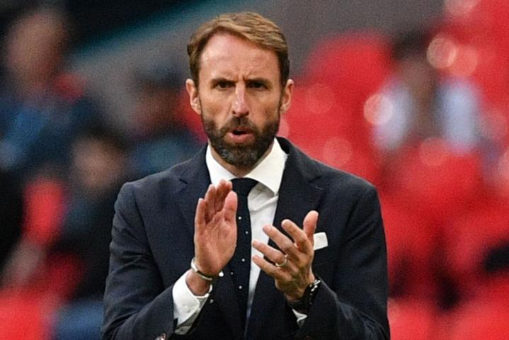 Englannin maajoukkueen nykyinen päävalmentaja Gareth Southgate oli ainoa epäonnistuja Saksan 6–5-rankkarikisavoittoon päättyneessä vuoden 1996 EM-välierässä. Lehtikuva/AFP