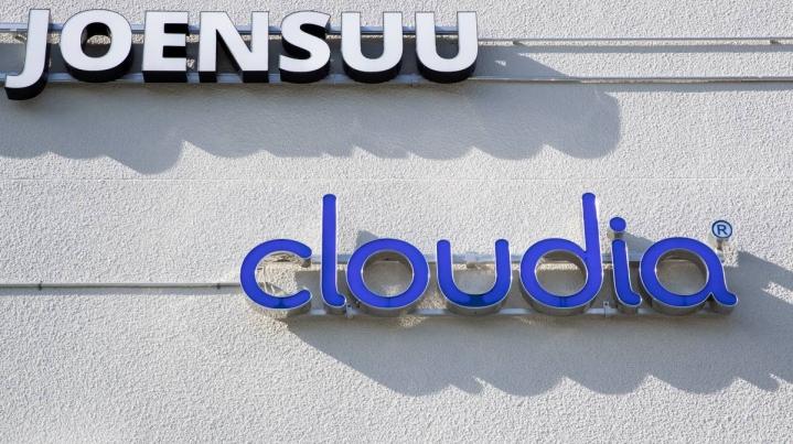 Cloudian suurin toimisto sijaitsee Joensuussa. Tiedepuiston yksikössä työskentelee noin 35 henkeä.