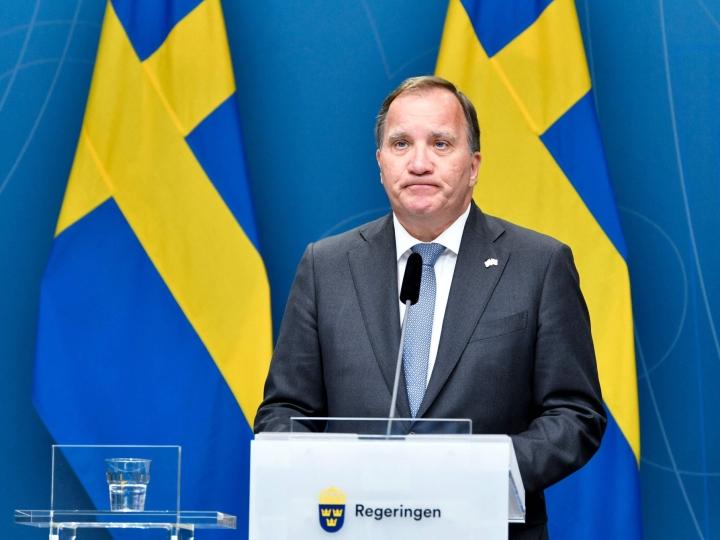 Löfvenin mukaan ennenaikaisten vaalien järjestäminen ei olisi nykytilanteessa maan etujen mukaista. LEHTIKUVA/AFP