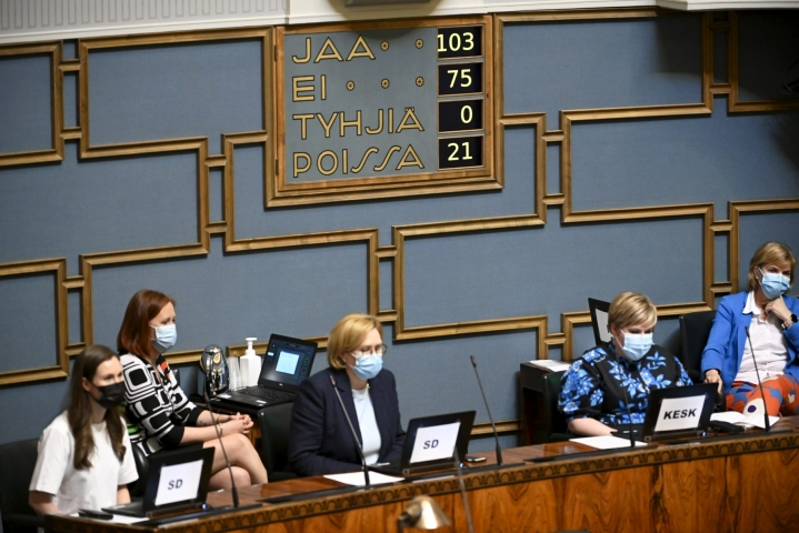 Hallitus esittää yrityksille kustannustuen neljättä hakukierrosta kevään tappioiden korvaamiseksi. LEHTIKUVA / Markku Ulander