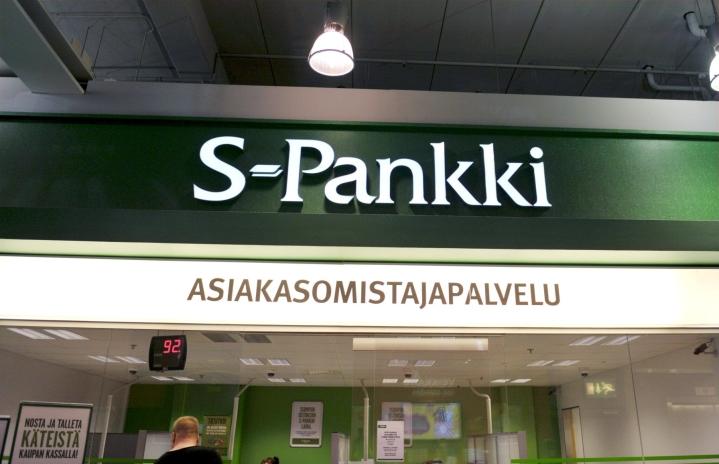 SOK ja S-ryhmän alueosuuskaupat kertovat ostavansa LähiTapiola-ryhmän osuuden S-Pankista. LEHTIKUVA / Irene Stachon