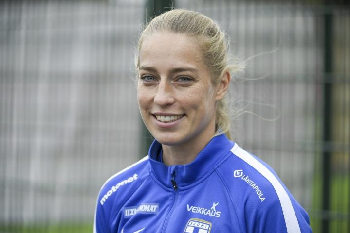 Sällström, 32, lähti Suomesta ulkomaille vuonna 2007 ja pelasi viimeksi Ranskan pääsarjan Paris FC:ssä, jossa hän teki kolmen kauden aikana 17 maalia. LEHTIKUVA / MARKKU ULANDER