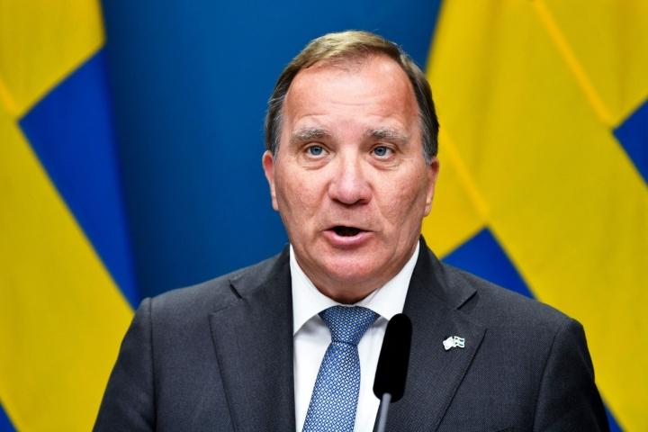 Löfvenin hallitus kaatui maanantaina kiistaan vuokrien sääntelystä. LEHTIKUVA/AFP