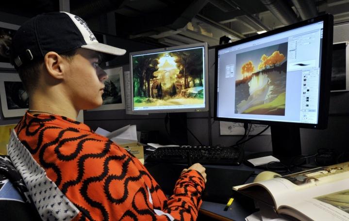 Housemarque on Suomen vanhin yhä toiminnassa oleva pelitalo. Se on tehnyt läheistä yhteistyötä Sonyn kanssa jo vuosien ajan. LEHTIKUVA / KIMMO MÄNTYLÄ