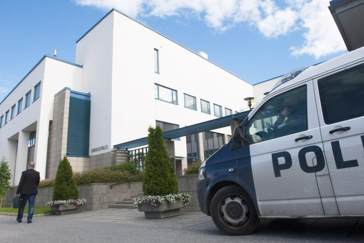 Syytteita käsitellään Keski-Suomen käräjäoikeudessa Jyväskylässä. LEHTIKUVA / JYRKI VESA