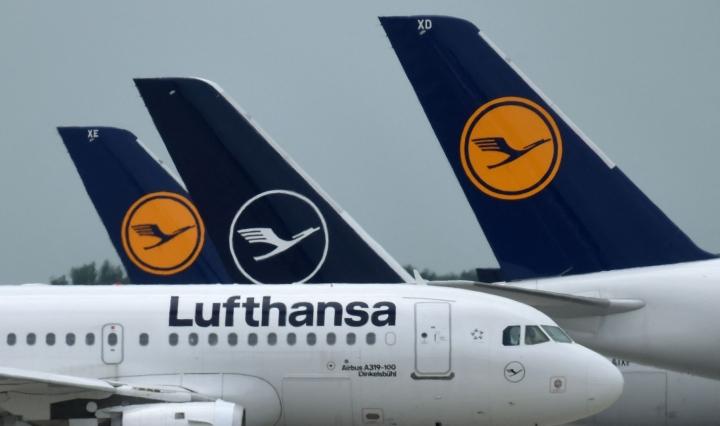 Saksa kielsi lennot vastatoimena sen jälkeen, kun Venäjän viranomaiset eivät antaneet ajoissa lupaa kahdelle saksalaisen Lufthansan lennolle Venäjälle. LEHTIKUVA/AFP