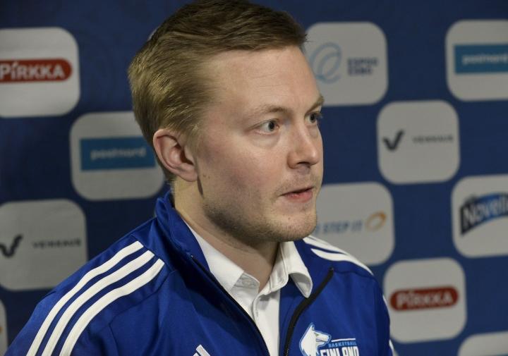 Lassi Tuovi on ehdolla Ranskan miesten koripalloliigan parhaaksi valmentajaksi. LEHTIKUVA / Mesut Turan