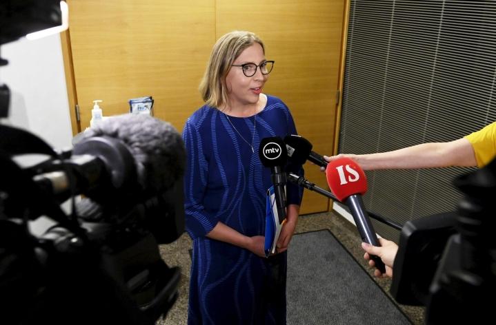 Yli-Viikari kuvasi tänään eduskunnan kansilatoimikunnan kanssa käytyä keskustelua erittäin hyväksi. LEHTIKUVA / VESA MOILANEN