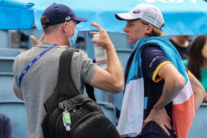 Ruusuvuori päätti jättää Tokion olympiatenniksen tältä kesältä väliin, vaikka olisi todennäköisesti päässyt turnaukseen varasijalta mukaan. LEHTIKUVA / AFP
