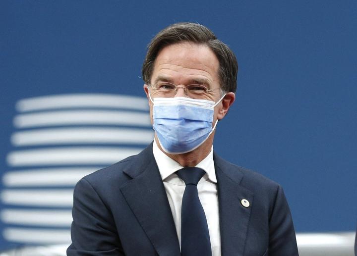 Hollannin pääministeri Mark Rutte on kommentoinut kovasanaisesti Unkarin vähemmistöjä syrjivää lakia. LEHTIKUVA/AFP