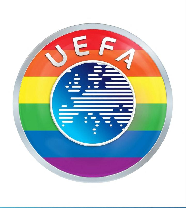 Uefa vetosi tiistaina linjauksessaan, että Euroopan jalkapalloliitto ei ole poliittinen järjestö. LEHTIKUVA / AFP