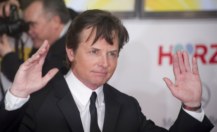 Michael J. Fox on kertonut sairastavansa Parkinsonin tautia, ja hänen säätiönsä rahoittaa siihen liittyviä tutkimuksia. Arkistokuva. LEHTIKUVA/AFP