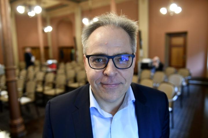 Jyväskylän yliopiston taloustieteen professori Mika Maliranta on nimitetty Palkansaajien tutkimuslaitoksen uudeksi johtajaksi elokuun alusta lähtien. LEHTIKUVA/ Martti Kainulainen