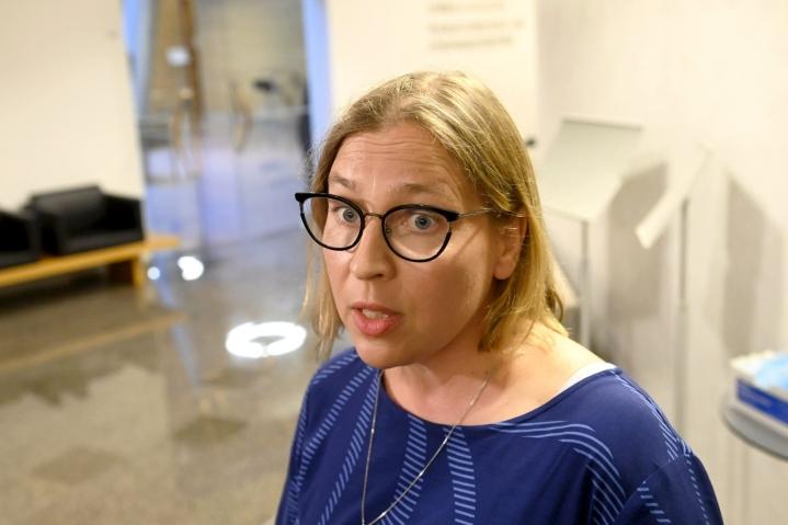 Mediatietojen mukaan kansliatoimikunta on päättänyt esittää Tytti Yli-Viikarin irtisanomista. LEHTIKUVA / VESA MOILANEN