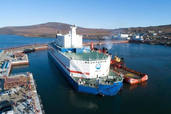 Akateemikko Lomonosov -aluksen pienoisydinvoimala on toistaiseksi tuottanut vain sähköä.