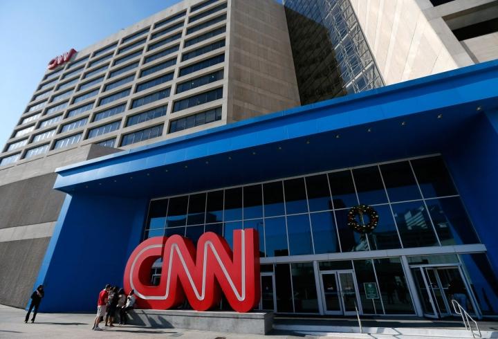 Virheilmoitus näkyi muun muassa yhdysvaltalaismedia CNN:n verkkosivulla. LEHTIKUVA / AFP