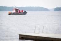 Kalastamaan lähtenyt henkilö horjahti veteen Tohmajärvellä - pääsi uimalla takaisin rantaan