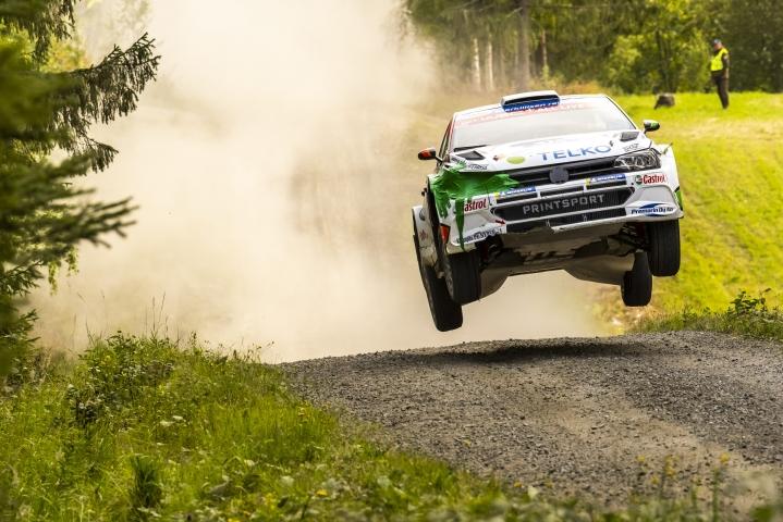 Emil Lindholm kaasutteli viime kesänä Jyväskylässä. Lehtikuva / Hannu Rainamo