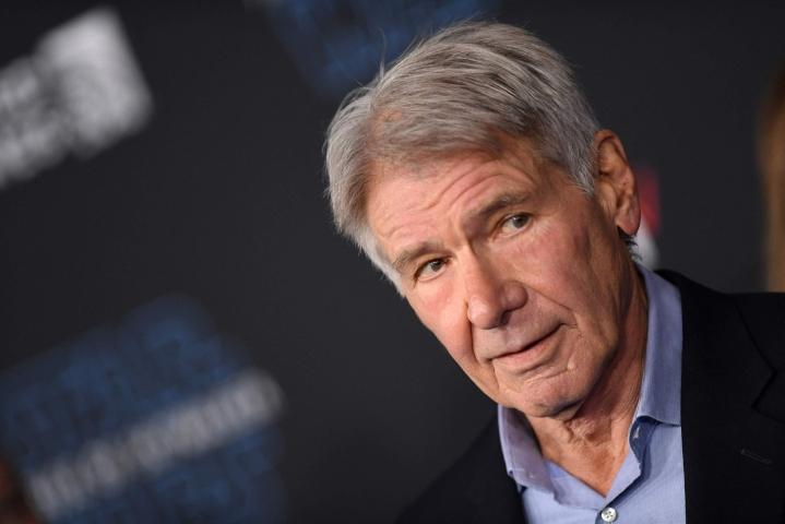 Tuotantoyhtiö Disney ei kertonut millainen tai kuinka vakava näyttelijä Harrison Fordin vamma on. LEHTIKUVA/AFP