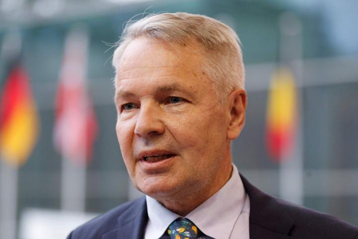 Ulkoministeri Pekka Haavisto (vihr.). LEHTIKUVA / AFP