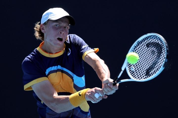 Ruusuvuori selviytyi saksalaisparinsa kanssa jatkoon Ranskan avoimessa tennisturnauksessa. Lehtikuva/AFP