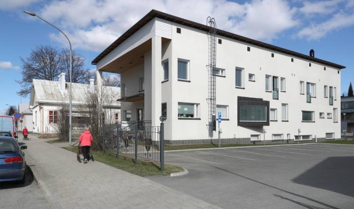 Karjalan kielen seuran toimisto sijaitsi Pohjoiskatu 6:n talossa.