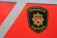 Kissaa väistänyt henkilöauton kuljettaja ajoi ulos tieltä Polvijärvellä - pääsi itse autoineen pois pientareelta