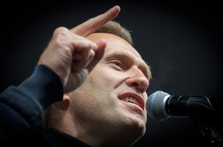 Venäläisen oppositioaktivisti Aleksei Navalnyin korruption vastainen järjestö FBK aikoo jatkaa taistelua korruptiota vastaan, järjestö kirjoittaa Twitterissä. LEHTIKUVA/AFP