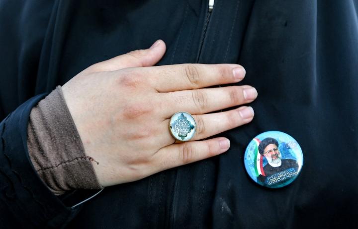 Iranissa äärikonservatiivinen Ebrahim Raisi valittiin odotetusti uudeksi presidentiksi perjantaina järjestetyissä vaaleissa. LEHTIKUVA / AFP