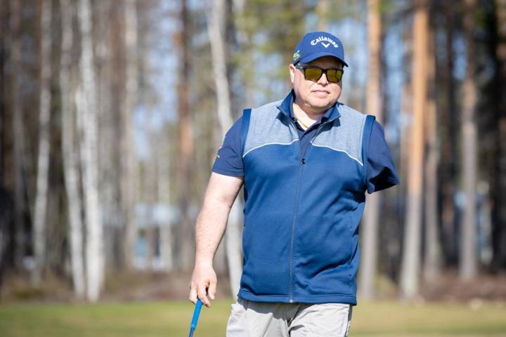 Karelia Golfin Petri Takkunen arkistokuvassa.
