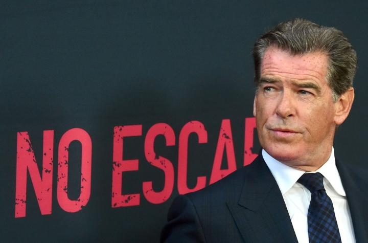 Brosnan viiletti James Bondina neljässä elokuvassa, jotka julkaistiin vuosina 1995–2002. Lehtikuva/AFP