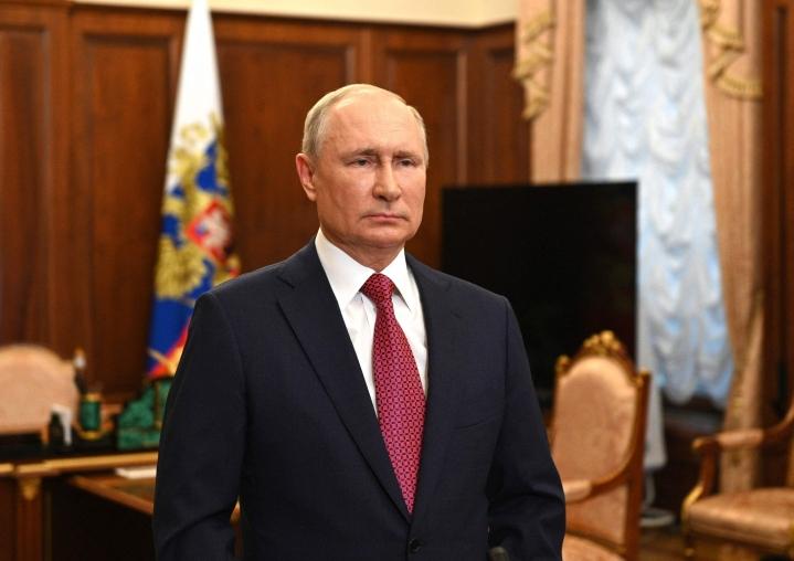 Presidentti Putin oli ja on edelleen kiinnostunut Moskovan ja Brysselin välisten työsuhteiden luomisesta, kertoi hänen tiedottajansa. Lehtikuva/AFP