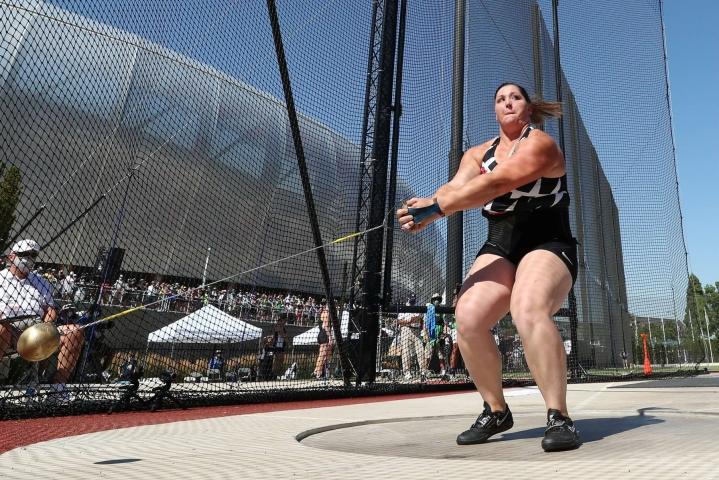 DeAnna Price varmisti paikan Tokion olympialaisiin. LEHTIKUVA / AFP