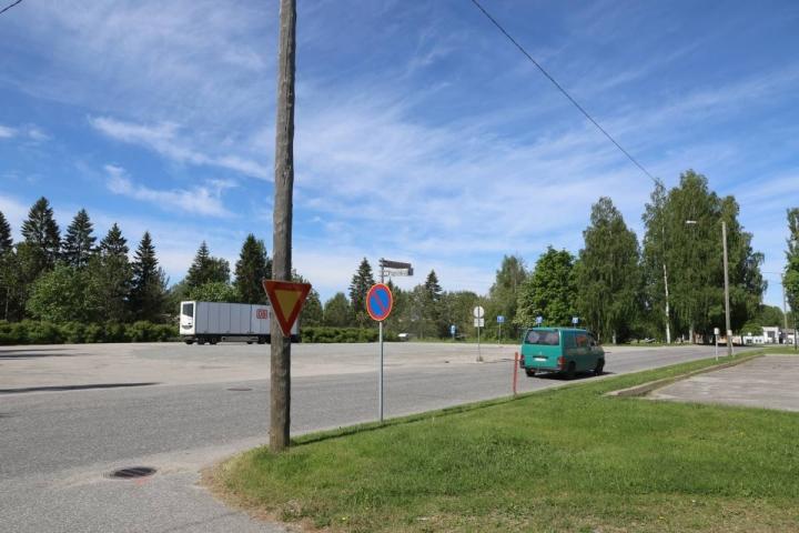 Vanhan linja-autoaseman tontti Lieksassa on varattu uutta sote-keskusta varten.