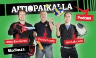"""Kuuntele: Joensuulainen urheilun monitoimimies Jussi Väisänen Aitiopaikalla-podcastin vieraana: """"Kun ambulanssin pillit soivat, tiesimme että Eriksen on hengissä"""""""