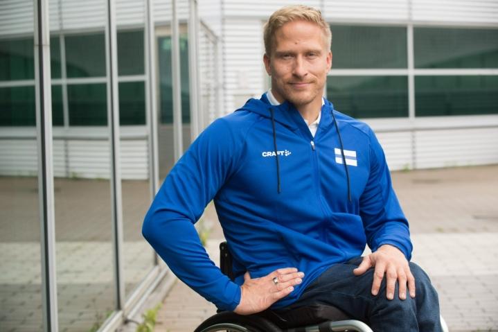Leo-Pekka Tähti otti toisen EM-kultansa Puolan Bydgoszczissa, kun hän kelasi voittoon 400 metrin kisassa. LEHTIKUVA / Mikko Stig