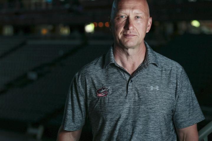 Jarmo Kekäläisen (kuvassa) johtama jääkiekon NHL-seura Columbus Blue Jackets nimesi seuran pitkäaikaisen apuvalmentajan Brad Larsenin uudeksi päävalmentajakseen. LEHTIKUVA/AFP