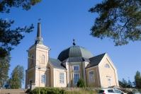 Rääkkylän kirkon ulkomaalaus alkaa - kirkossa ei ole opastusta tänä kesänä