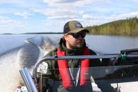 """Kuvat ja video: Nurmeslainen Pielisen Retki vie kalastamaan ja vierailemaan Pielisen saariin - """"Ei tämän parempaa ympäristöä voisi olla tähän ammattiin"""""""