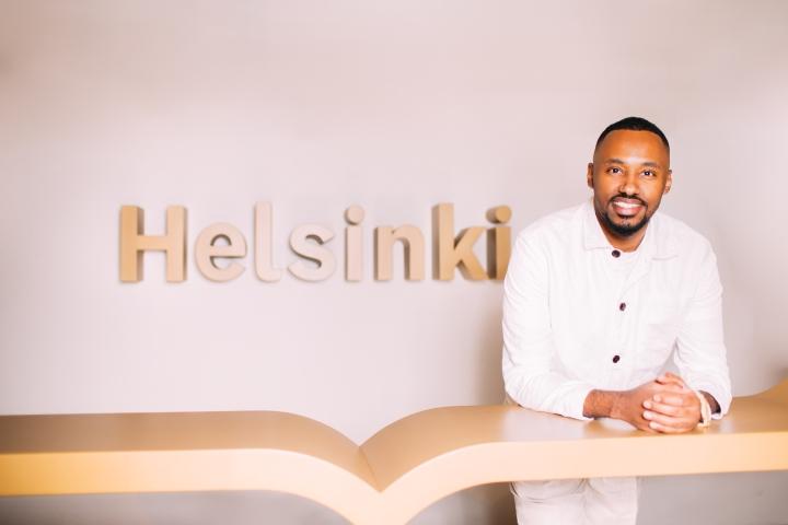 Itä-Helsingissä asuva Suldaan Said Ahmed, 28, aikoo muistaa myös entisen kotiseutunsa Pohjois-Karjalan työssään kansanedustajana.