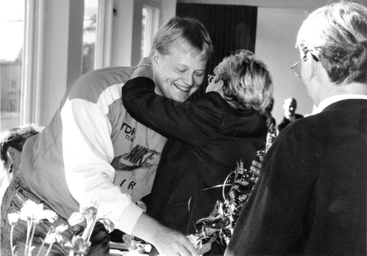 Seppo Rädyn tasokas ura toi kuusi arvokisamitalia. Syksyllä 1991 juhlittiin MM-hopeaa monivaiheisen kauden päätteeksi.