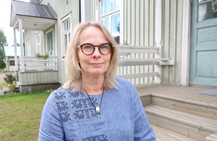 Eija Irene Hiltunen muutti takaisin sukunsa jalansijoille Ilomantsiin 12 vuotta sitten.