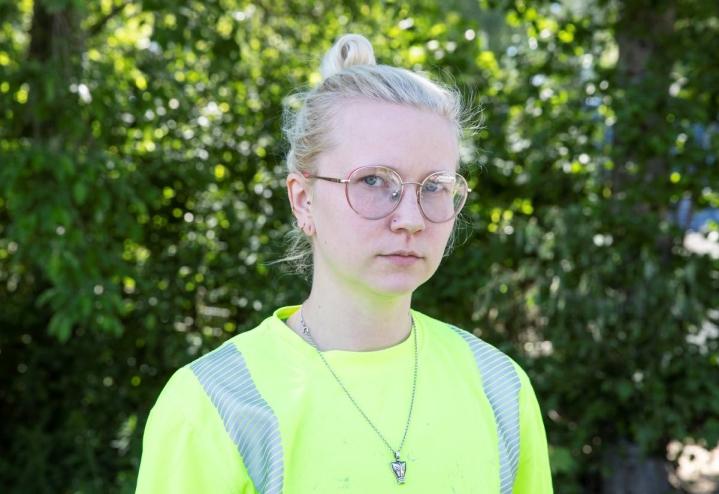 Riika Ryynänen päätti heti, että puhuu ikävästä tapauksesta.  - Niidenkin ihmisten puolesta, joille on tapahtunut samaa, mutta jotka eivät jaksa, pysty tai voi.