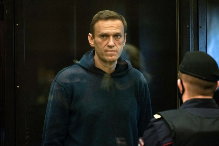 Venäläinen tuomioistuin päätti myöhään keskiviikkona, että Navalnyin järjestöt luokitellaan äärijärjestöiksi. LEHTIKUVA/AFP