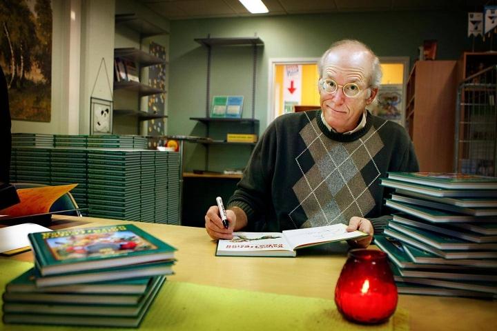 Don Rosa ilmoitti vuonna 2008, ettei enää piirrä sarjakuvia. Arkistokuva.