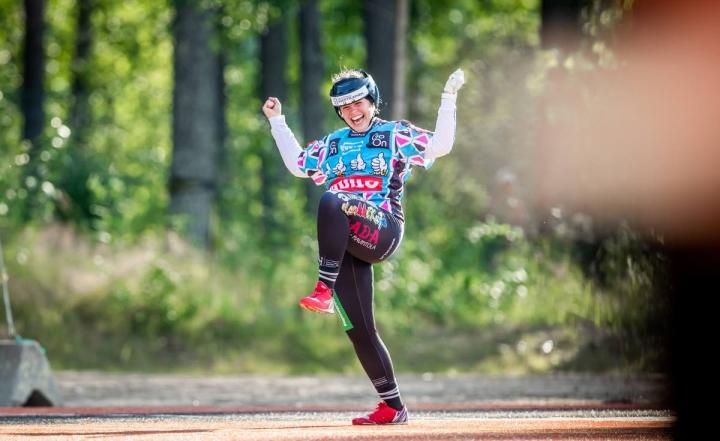 JoMan Nora Pulkkinen arkistokuvassa.