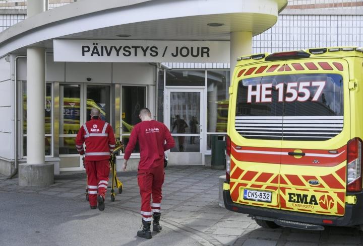 Lähes 135000 potilasta odotti pääsyä kiireettömän sairaalahoitoon huhtikuun 2021 lopussa, kertoo THL. LEHTIKUVA / Markku Ulander