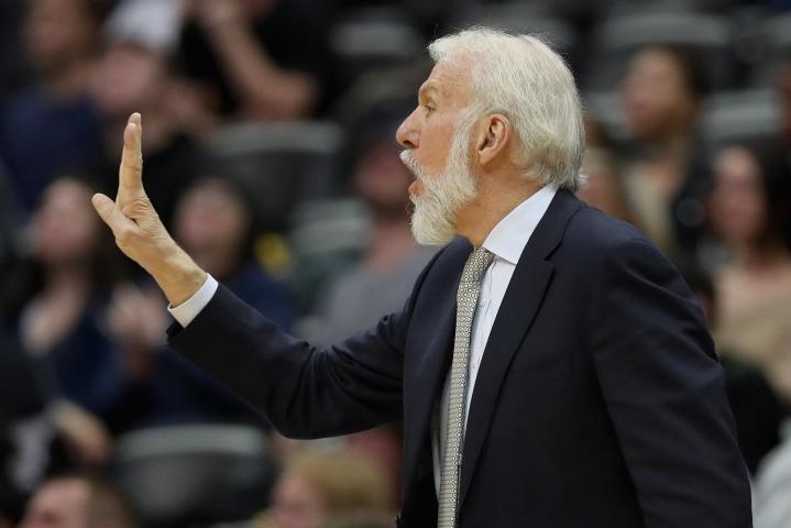 Päävalmentaja Popovichin mukaan Yhdysvaltojen peli näytti jo paremmalta. Lehtikuva/AFP