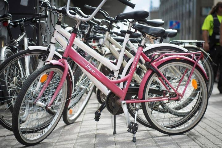 Pyörävarkaiden suosikkeja ovat edelleen Jopot, koska ne on helppo myydä eteenpäin.